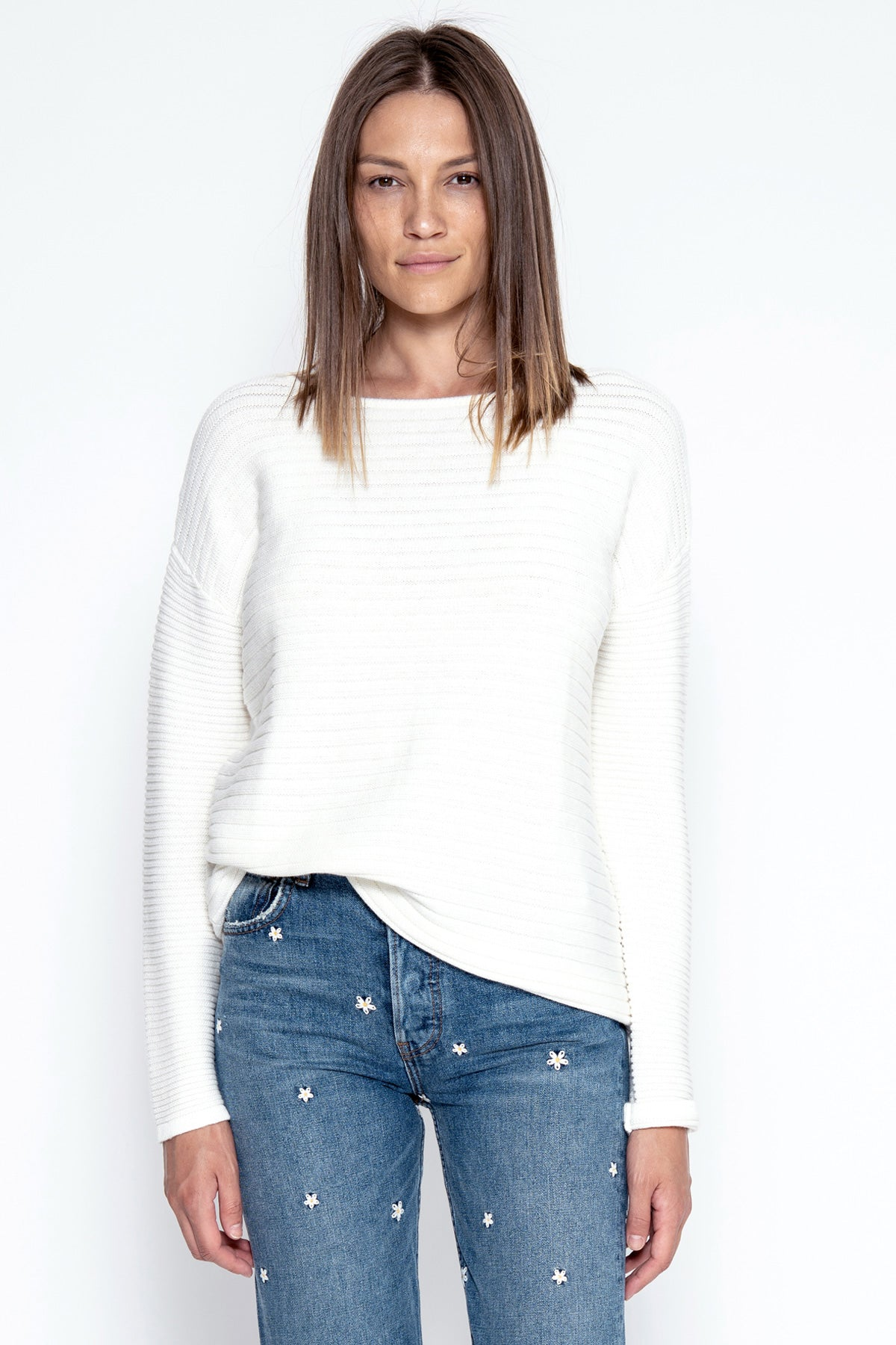 Thea Pullover - Ivory