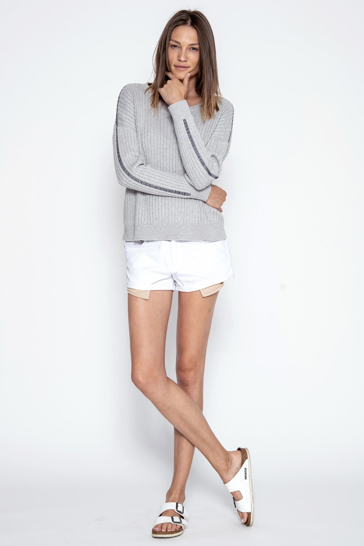 Dylan Pullover - Heather Grey