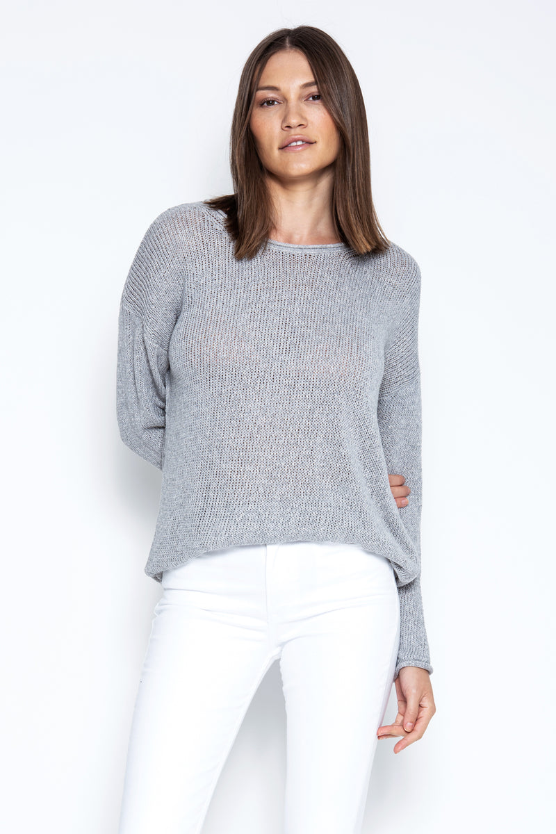 Bodhi Pullover - Heather Grey
