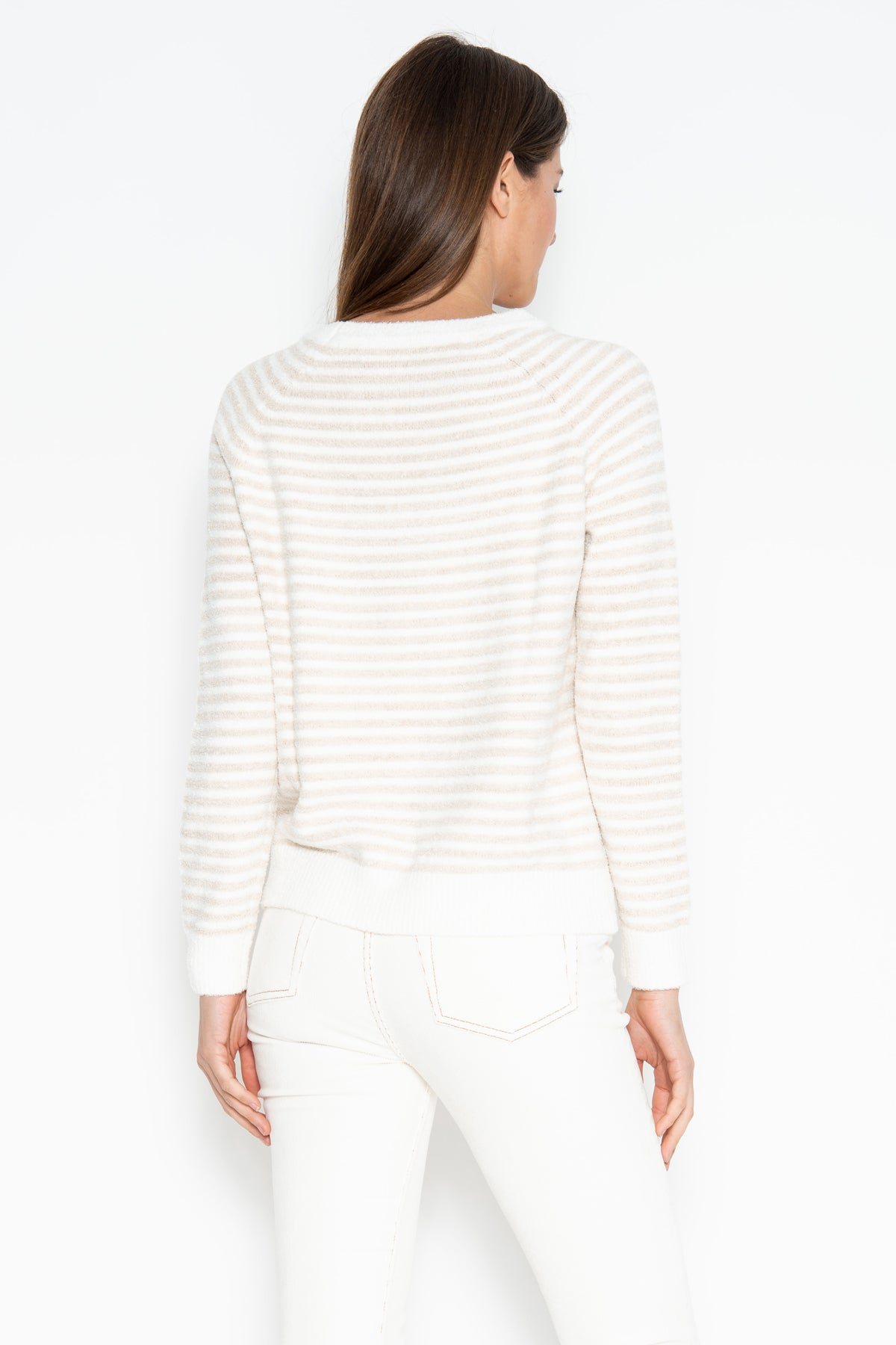 Stanley Stripe Pullover - Sable Combo