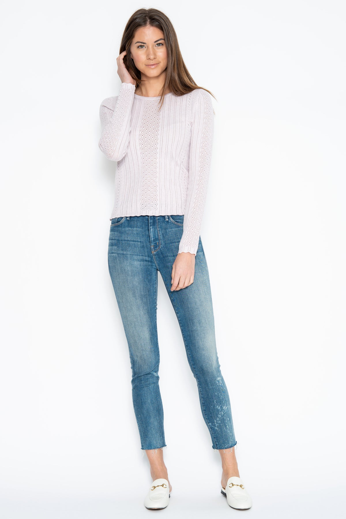 Jilly L/S Top - Oyster