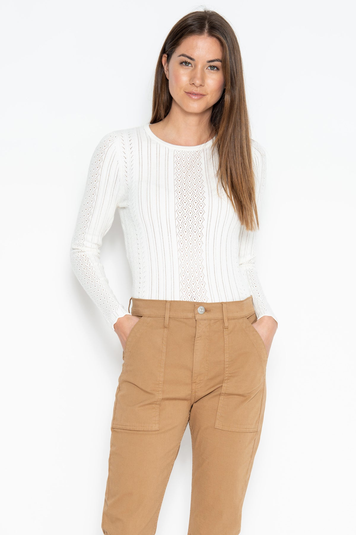 Jilly L/S Top - Starch