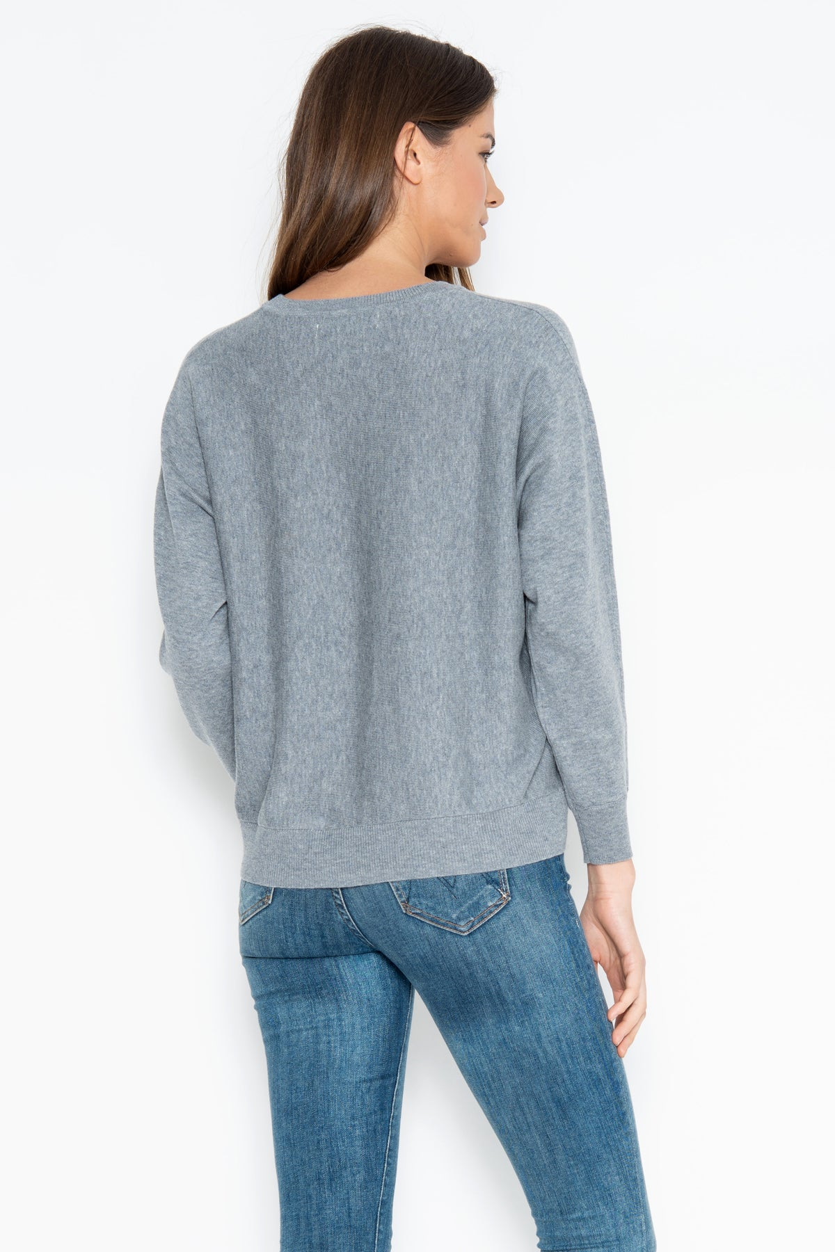 Anders Pullover - Heather Grey
