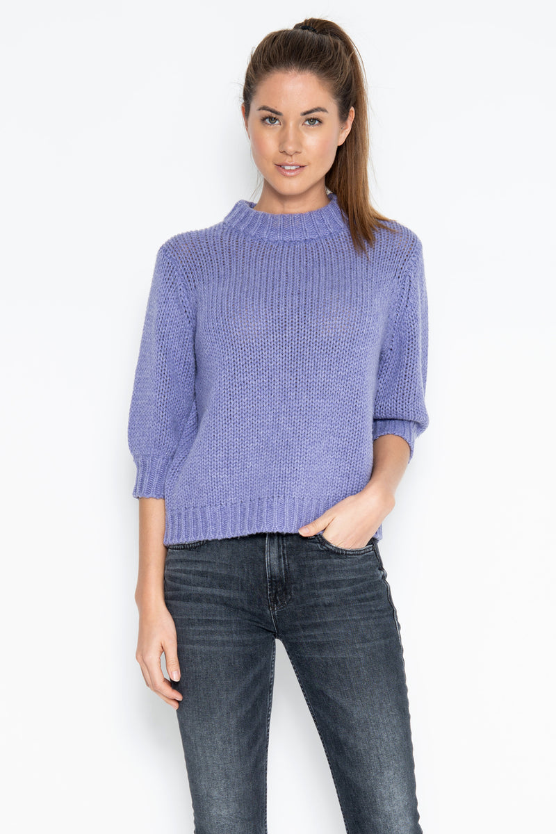 Milly 3/4 Pullover - Iris