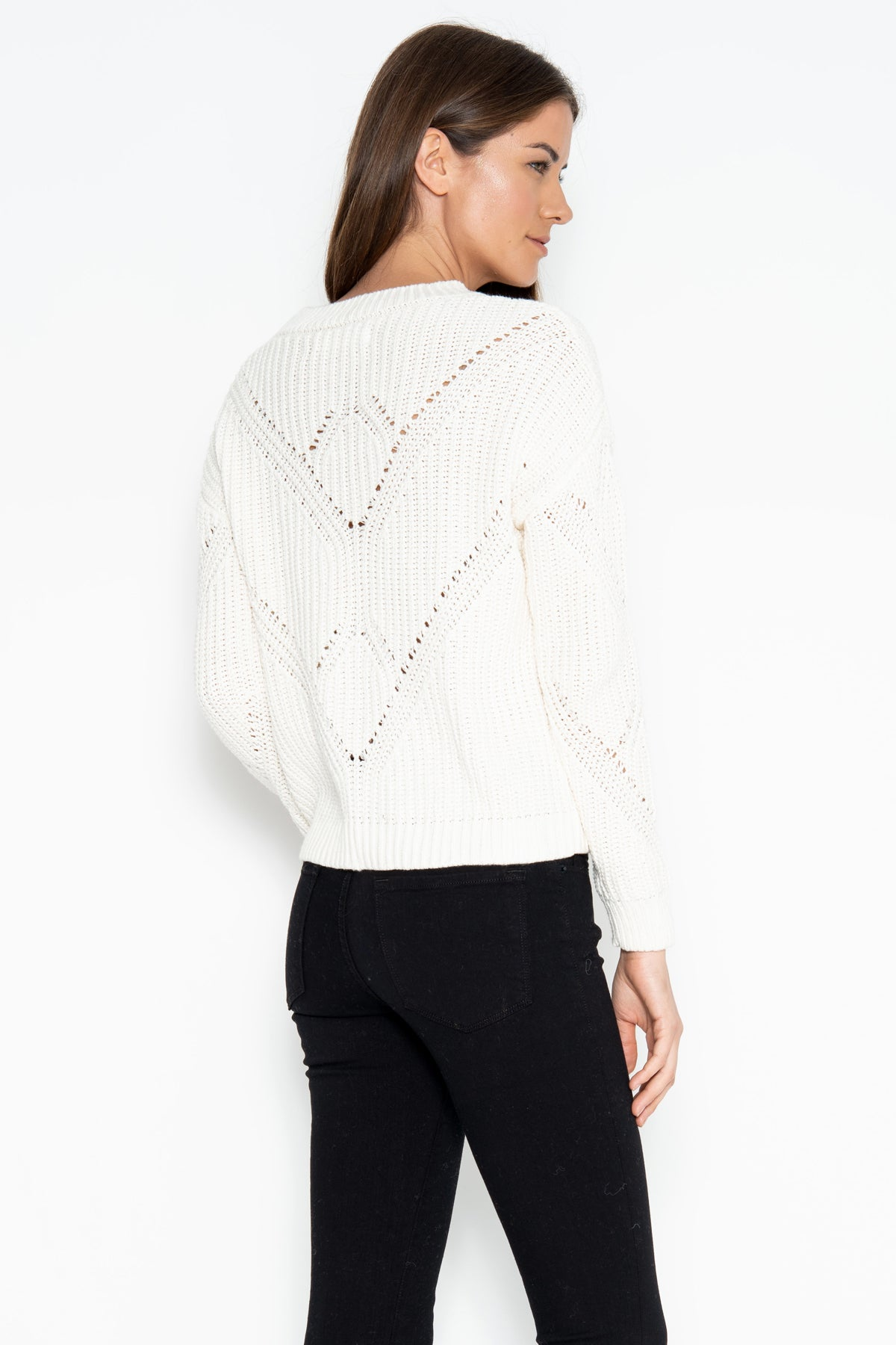 Llana Pullover - White Rabbit
