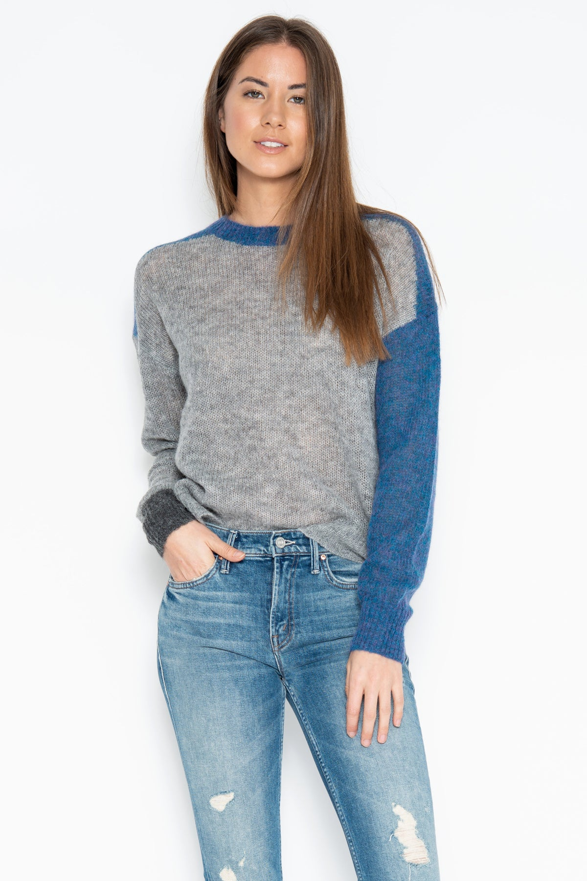 Mulholland Pullover - Lapis Combo