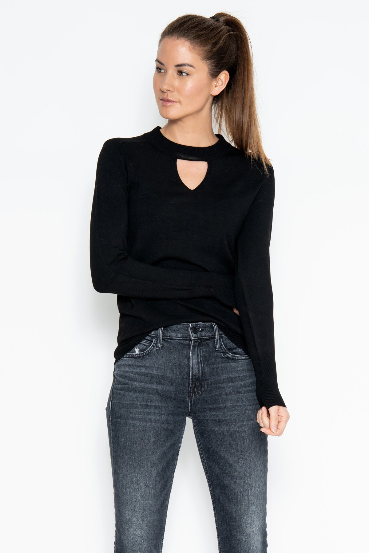 Sammi L/S Top - Black