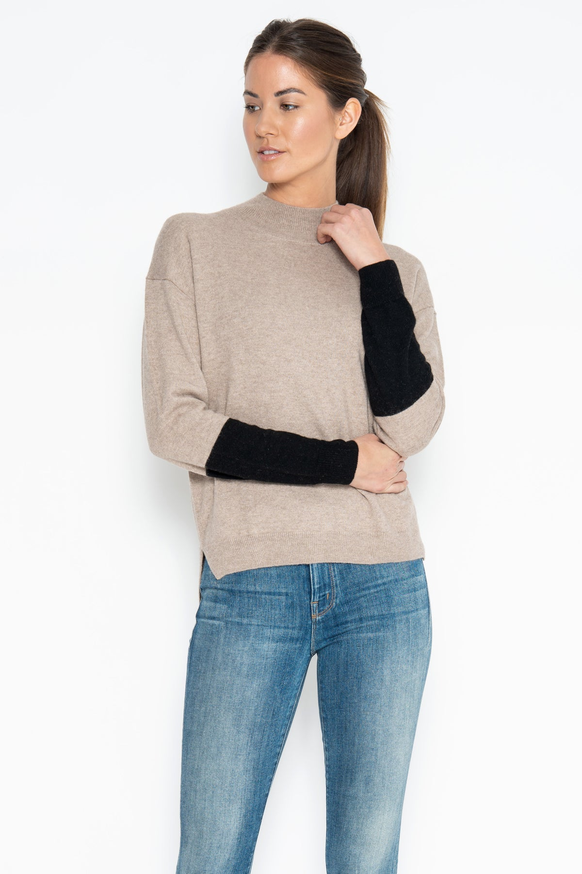 Dax Pullover - Flax Combo