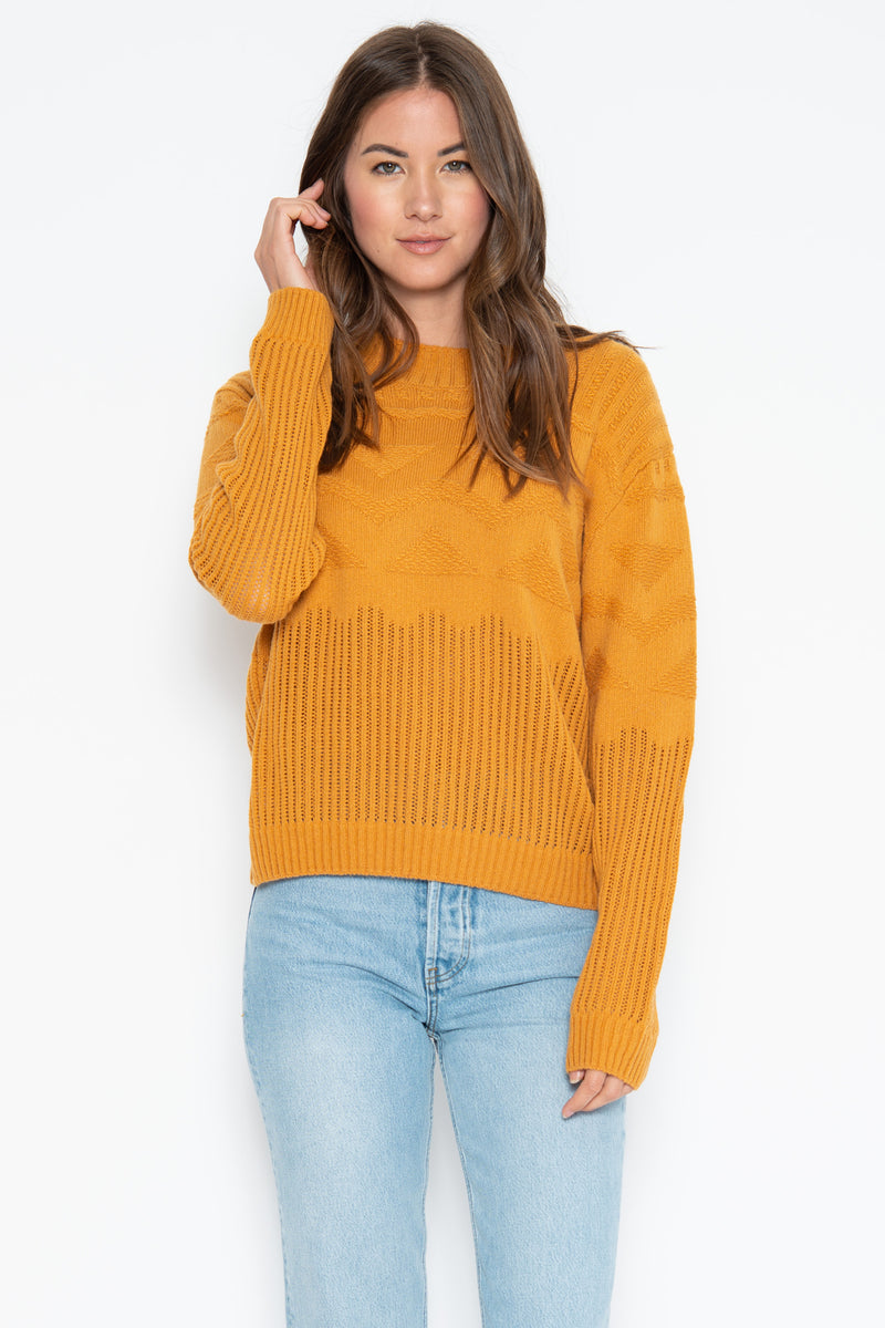 Murphy Pullover - Gold
