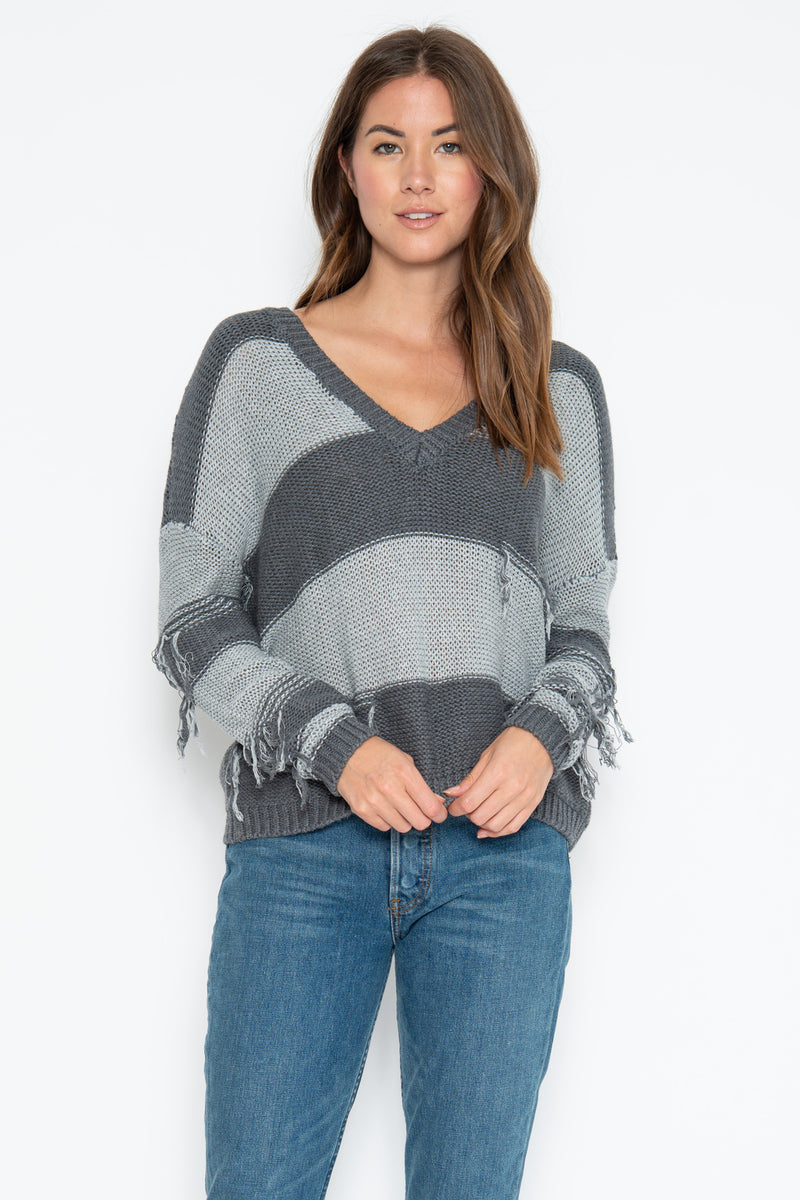 Lexie 2way Pullover - Flannel Combo