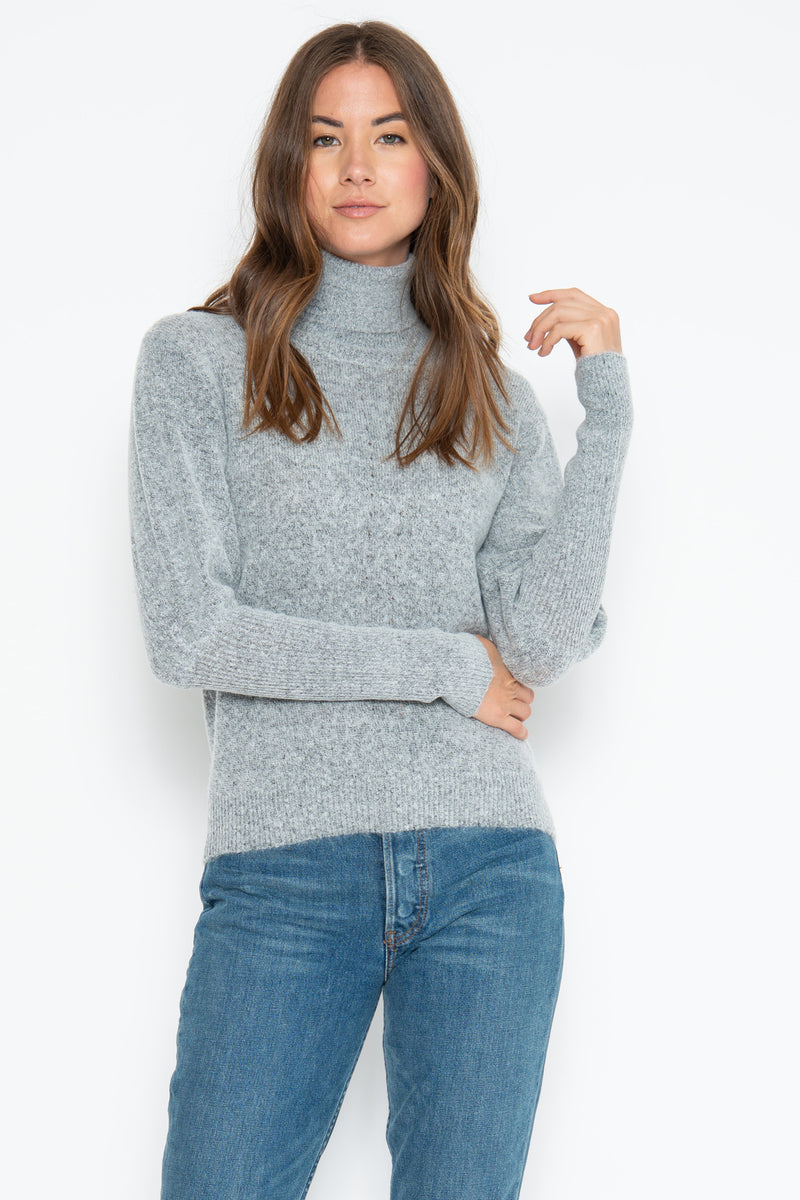 Leighton Turtle Neck - Flannel