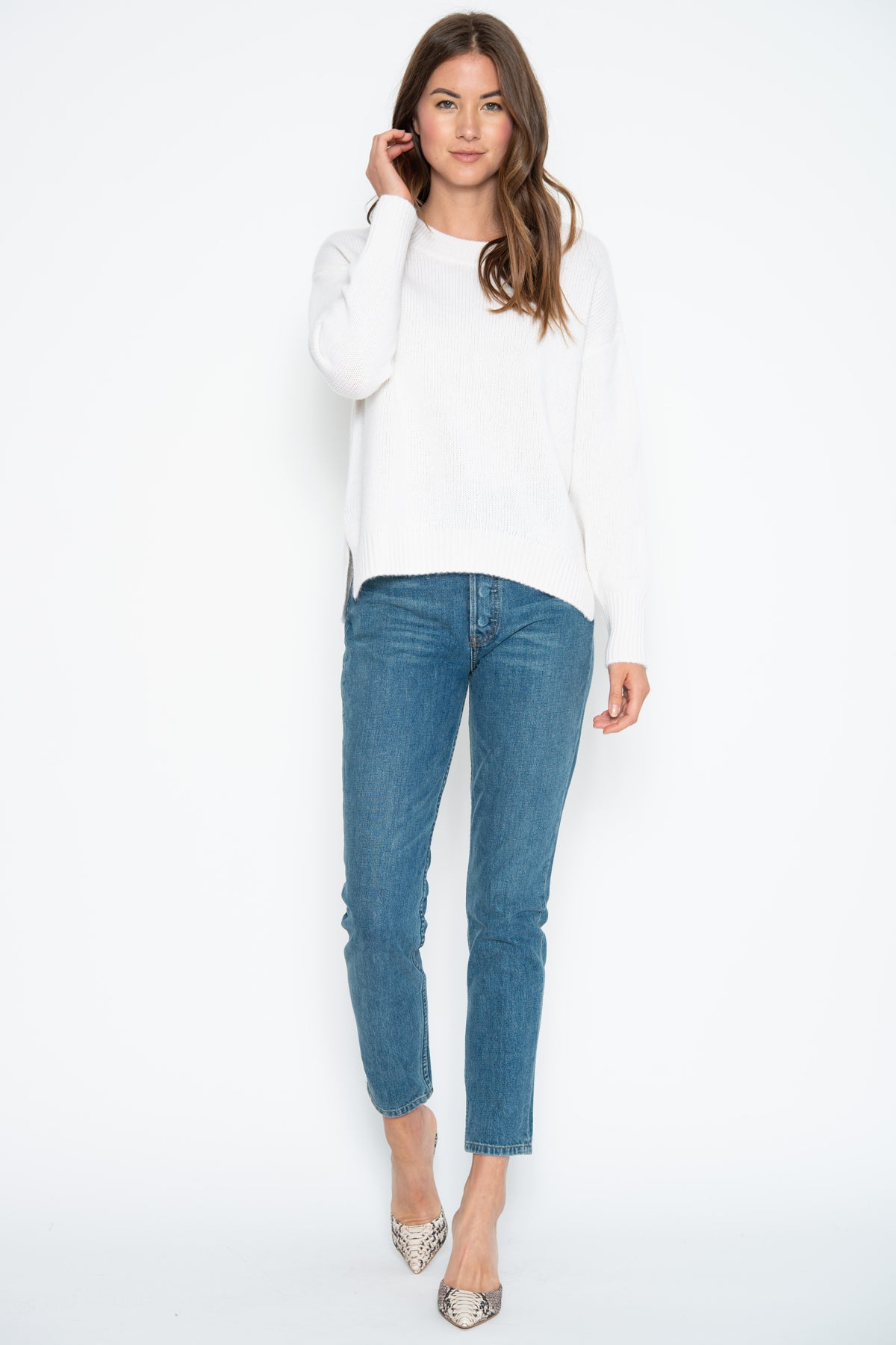 Lyle Cashmere Pullover - Ivory