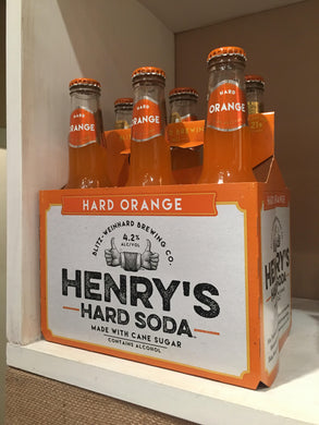 Henry's Hard Soda - Hard Orange