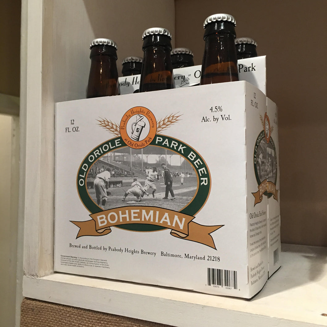 Old Oriole Park Beer Bohemian