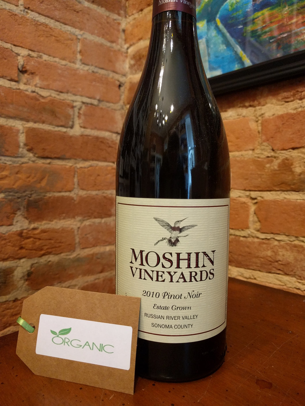 Moshin Vineyards, Pinot Noir (2010)