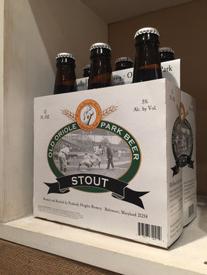 Old Oriole Park Beer Stout