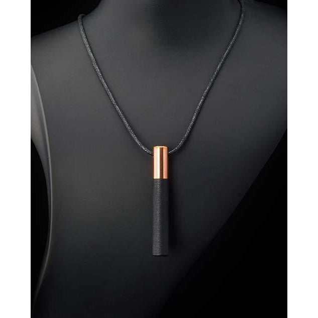 Lockstone One Copper Pendant & Black Stone - Tittup Unique Aromatherapy & Jewellery