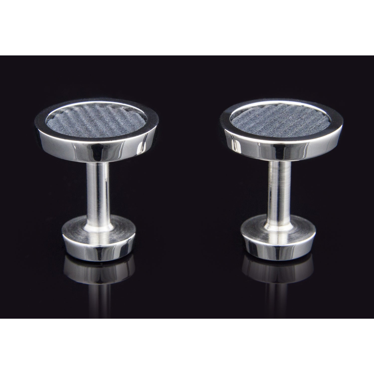Lockstone One Range Stainless Steel Cufflinks - Tittup Unique Aromatherapy & Jewellery