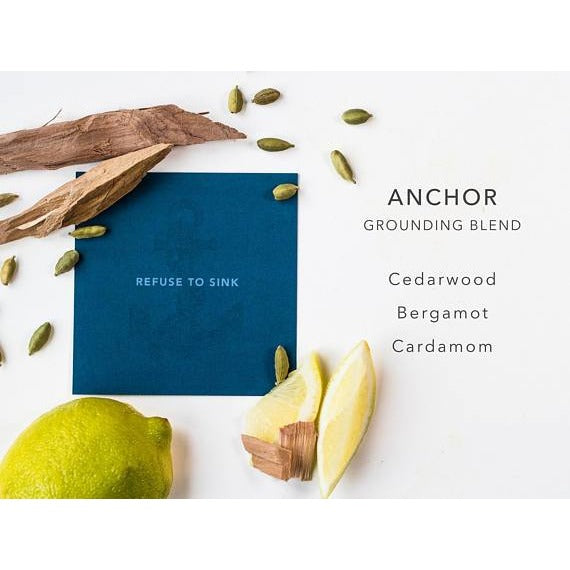 Anchor Grounding Blend - Hand Blended Essential Oils - Tittup Unique Aromatherapy & Jewellery