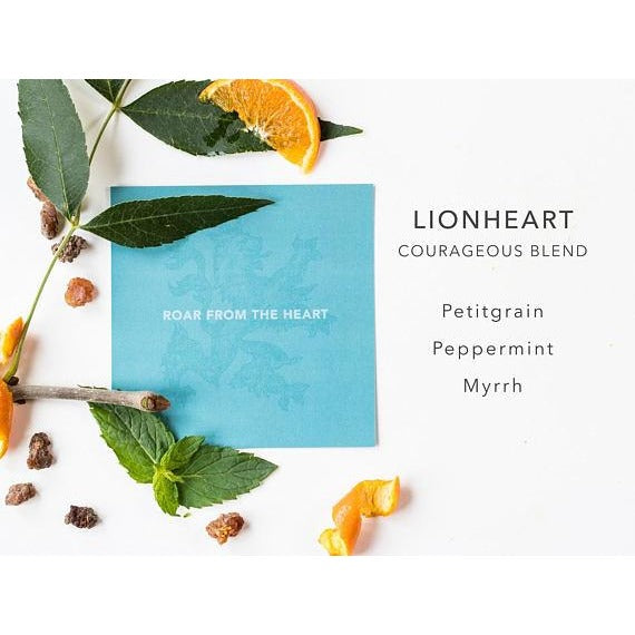 Lionheart Courageous Blend - Hand Blended Essential Oils - Tittup Unique Aromatherapy & Jewellery
