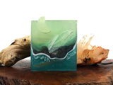 Aquamarine Crystal Handcrafted Soap