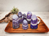 Amethyst Crystal Natural Point Soap