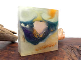 Heart Melts Crystal Handcrafted Soap