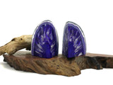 Amethyst Crystal Agate Bookend Soap