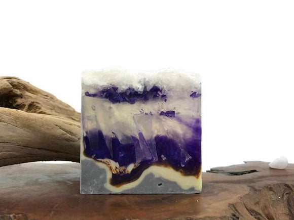 Amethyst Polished Agate Square Soap