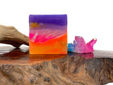 Rainbow Aura Crystal Soap
