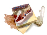 Copper Stone Crystal Soap
