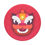 Chinese New Year Red Dragon, PopSockets