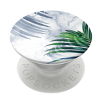 R&F White Marble Tropics, PopSockets