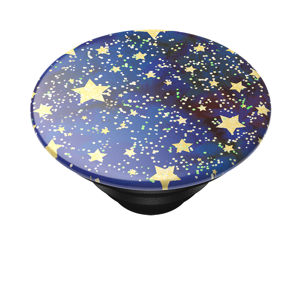 Glitter Starry Night Navy, PopSockets