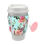 PopThirst Cup Sleeve Retro Wild Rose, PopSockets