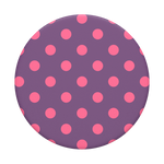 Polka Time Purple, PopSockets