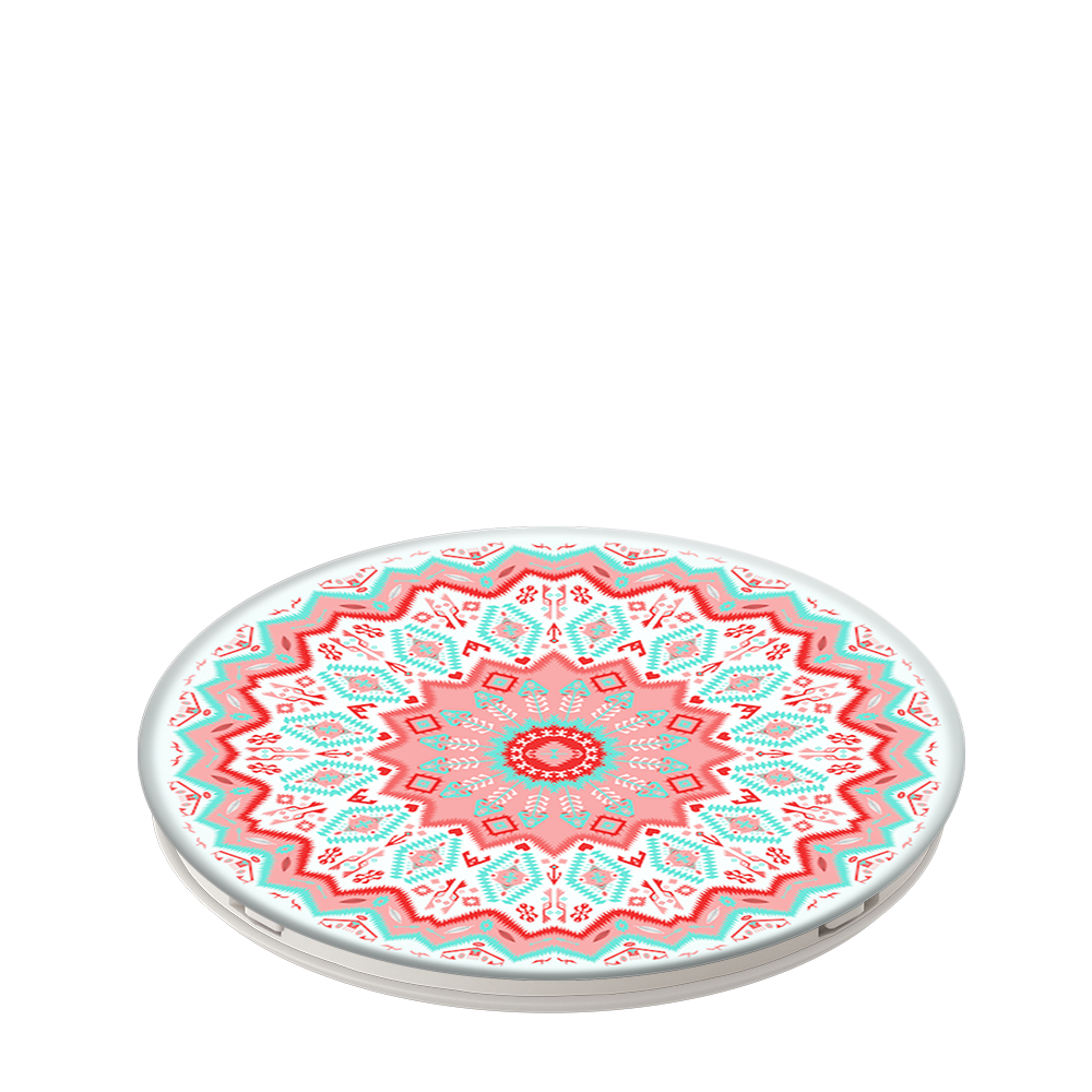 Aztec Mandala Red, PopSockets