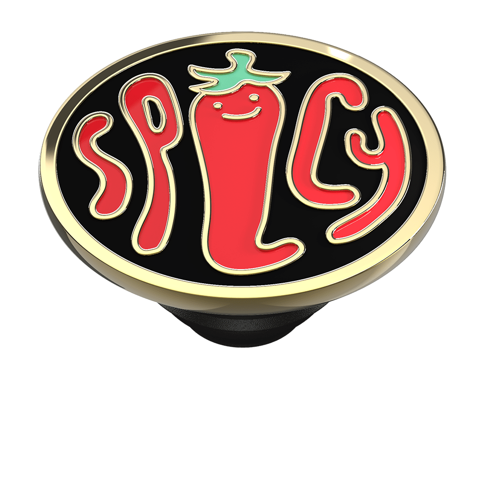 Spicy Black Enamel, PopSockets