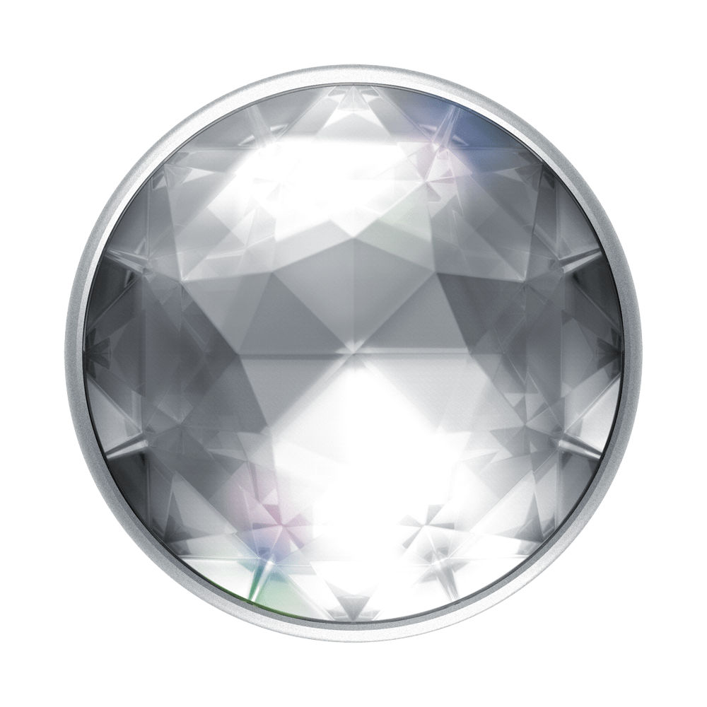Disco Crystal Silver