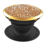 Swarovski® Golden Shadow Crystal, PopSockets