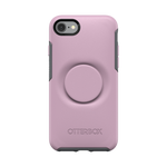 Otter + Pop Mauveolous Symmetry Series Case, PopSockets