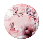 R&F Pink Marble Floral, PopSockets