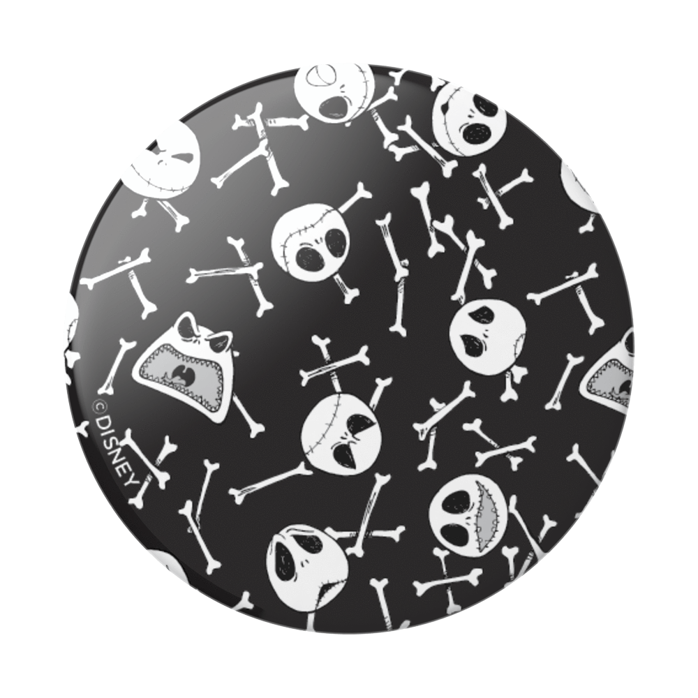 Jack Skellington Skull Pattern