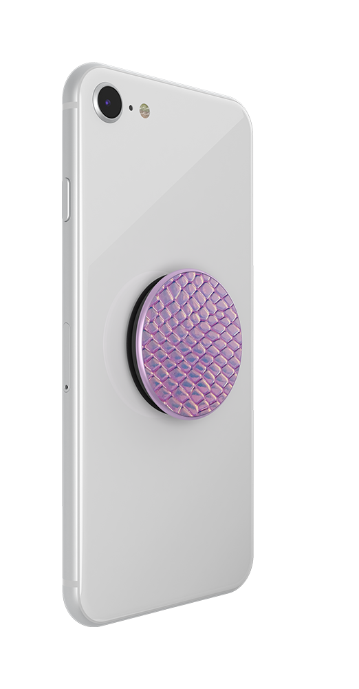 Iridescent Snake Golden Pink, PopSockets