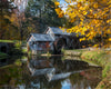 Mabry Mill in Autumn in Meadows of Dan, Virginia