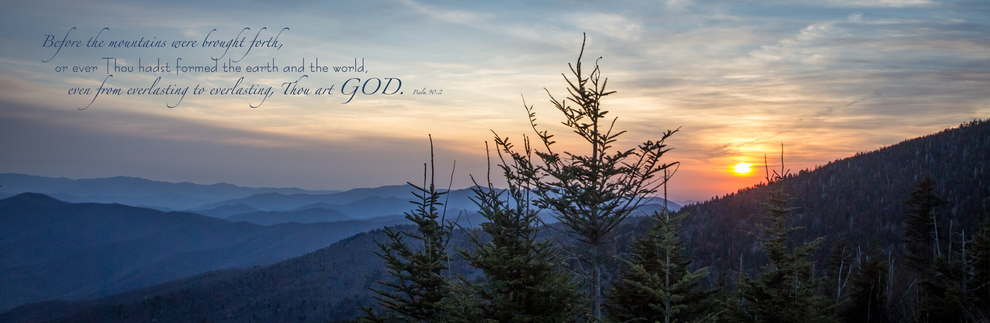Clingman's Dome Sunset 2 (0046-1)