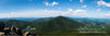 Peaks of Otter Panarama, Virginia, Summer, Mountians, Blue, Gree, Bible Verse