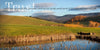 West Virginia Hills, Pond, Reflection, Fall, Bible Verse