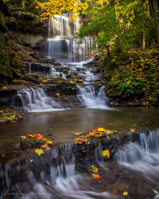 West Milton Cascades in Fall