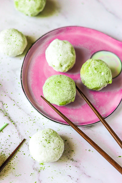 How to Make Matcha Mochi